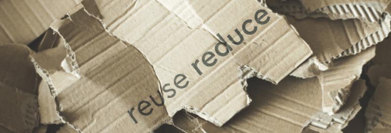 Resuse, reduce