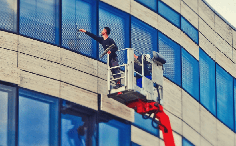 How to Clean High Rise Windows